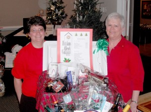 Hutchins Canning & Company Hotline Basket Donation
